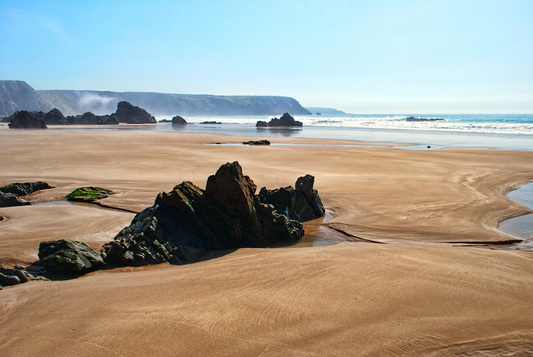 Picture of Marloes, Pembrokeshire, at low tide