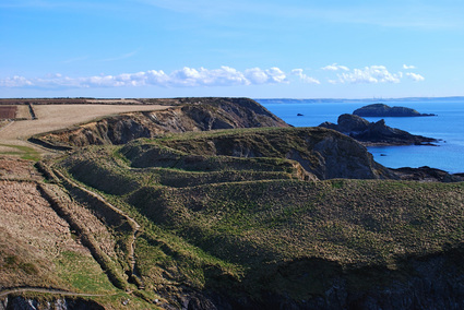 Picture of Ogof Castell Iron Age Fort, Pembrokeshire