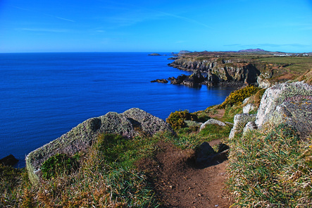Picture of Wales Coast Path at St Nons, Pembrokeshire