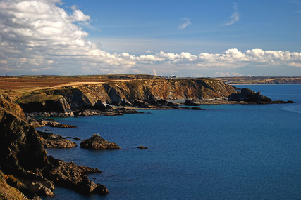 Picture of Wales Coast Path from Carreg y Barcud, Pembrokeshire